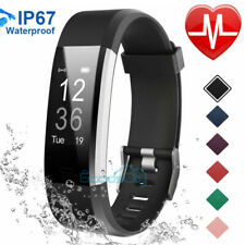 Fitness Activity Tracker Watch Fitness Heart Rate Monitor Pedometer Waterproof