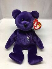 Princess Diana Bear - Retired TY Beanie Baby - With Space - # Stamp