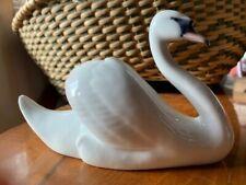 Vintage Royal Copenhagen Elegant Swan # 755 Signed Nielsen numbered perfect