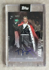 Topps Tyson Fury Signature Performance Autogramm Base Card Boxen Gypsy King