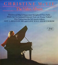 FLEETWOOD MAC CHRISTINE MCVIE 1984 VIDEO ALBUM POSTER ORIGINAL