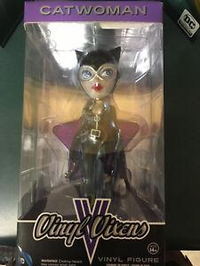FUNKO DC VINYL VIXENS CATWOMAN FIGURE NEW IN BOX
