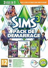 The sims 3 + the sims 3 night fall night design accessories 3 technology pc game