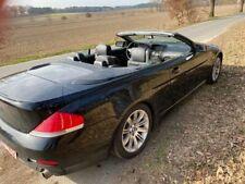 BMW   630  Cabrio , schwarz, Vollausstattung
