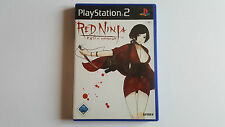 RED NINJA End of Honour / jeu Playstation 2 / complet / PAL GER / PS2
