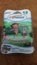 Dora la Exploradora 4 - 6 años Vtech V-SMILE MOTION Cartucho De Juego-libre de Reino Unido P&p