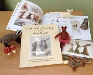 Needle Felting Workshops with Jenny Barnett -Book