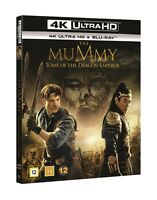 The Mummy Tomb of The Dragon Emperor 4K UHD + Blu Ray  Slipcover