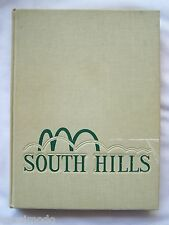 1966 SOUTH HILLS HIGH SCHOOL YEARBOOK, COVINA CALIFORNIA  NEOMEGA