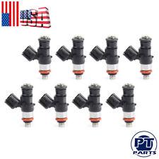 8 PCS Fuel Injectors LS3 LS7 L76 L92 L98 L99 LS9 LSA Corvette C6 Z06 Camaro G8