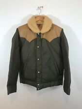 Rocky Mountain Featherbed Christy Leather/Shearling Goose Down Jacket 44