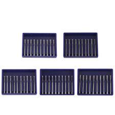 10 Pcs Dental Tungsten Carbide Steel Crown Cutting Burs High Speed 06 14mm