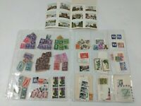 Vintage Stamp Collection Variety Some Used and Some Not Used Detroit Presidents