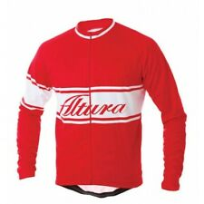 Altura Classic Men's Long Sleeve Cycling Jersey, Red, Large, Excellent Condition