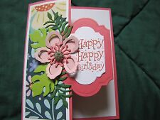 Botanical Blooms Happy Happy Birthday Congrates Card Kit w/Some Stampin Up