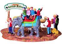 Lemax Christmas Carnival Village Safari Rides Elephant Camel Figurine SUPER RARE