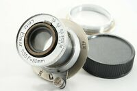 =Excellent= Leica Leitz Elmar 50mm f/3.5 for L39 LTM + LM conversion ring *253