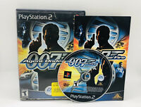 James Bond 007 in Agent Under Fire (PlayStation 2, PS2 2002) Video Game Complete