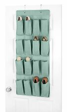 Whitmor Over the Door Shoe Organizer 16 pockets TURQUOISE 6315-87-TURQ-PDQ NEW