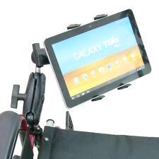 Extendido silla de ruedas soporte tableta para Samsung Galaxy Tab 2 3 4 serie