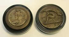 2 Surfer Medallion Tins Stores ANYTHING!