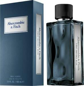 Abercrombie & Fitch First Instinct Blue 1.7 oz / 50 ml Cologne Eau de Toilette