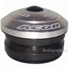 """Acor Fully Integrated Headset 1.1/8"""" MTB Bicycle Bike 41.8mm Bearings Silver"""