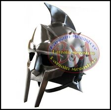 Fully Wearable Gladiator Movie Helmet Roman Arena Knight Maximus Armour Helmet