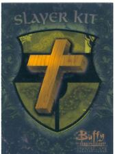 Buffy TVS Season 1 Chase Card Slayer Kit S2  A Cross