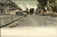 Winchendon MA Central St. c1910 Postcard