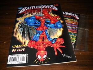 Marvel: Streets of Fire Battlebooks: Spiderman