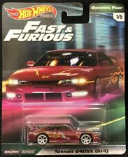Mattel FAST and FURIOUS HOTWHEELS NISSAN 240SX in S14 GBW84