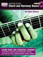 Acoustic Guitar Private Lessons: Acoustic Guitar Chord and Harmony Basics :CD