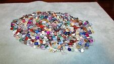 9163 AGATE MIXED MINI TUMBLED STONES 2 OZ 200-250 PIECES