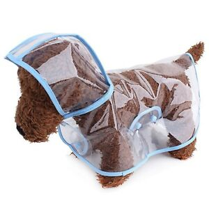 Rain-wears For Dogs Cute Lovely Puppy New Style Waterproof Transparent Raincoat