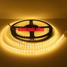 5M 600LED 5630 LED Flexible Strip Warm white Super Bright IP67 waterproof DC12V