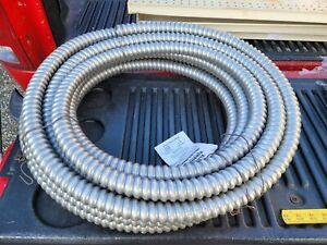 "1"" x 50' Blue Ribbon Aluminum Conduit Electri-Flex Reduced Wall ABR Greenfield 1"