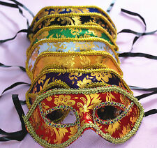 12pcs Pack of Mardi Masquerade Party Fantasy Masks weddings Unisex Halloween new