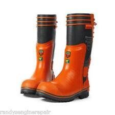 544027944 Husqvarna size 10.5 Loggers Rubber Boots Arborist Apparel