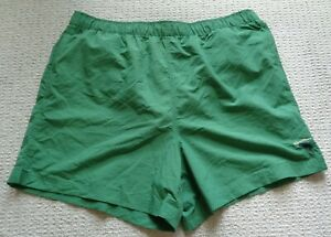 Caribbean Roundtree & Yorke Size Large SOLID Green New Men's Swim Trunks Shorts