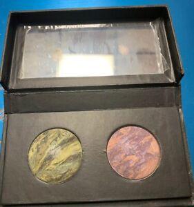 Laura Geller Eye Shadow Baked Marble AMETHYST LAGOON Lavender Pink & Green tones