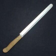 VTG Chicago Cutlery Serrated Bread BT10 Knife Full Tang Triple Rivet Wood Knives