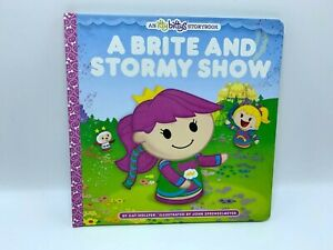 A Brite and Stormy Show - Rainbow Brite book CAT HOLLYER Itty Bitty