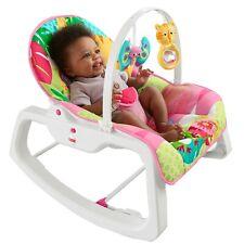 Baby Rocker Sleeper Bouncer Chair Seat Swing Toddler Infant Vibrating Portable