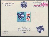 Paraguay Block17 postfrisch 1961 Europa (8940423