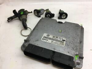 VW Polo IV 9N Steuergerät Motor 03C906013B MSG mit Zündschloss 1.4 FSI 86PS
