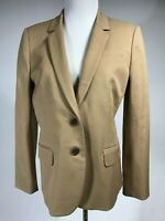 *NEW* J.CREW Petites 'Thompson Blazer in Two-Way Stretch Cotton' - 10P, Khaki