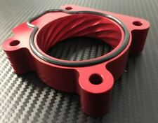 Red Throttle Body Spacer 2006 - 2009 Subaru LEGACY 2.5l, non TURBO New Billet