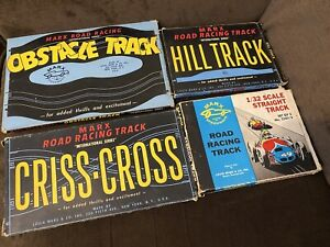 Road Racing By Marx Hill Obstacle Cross-Cross Track Lot (NO Cars Included)