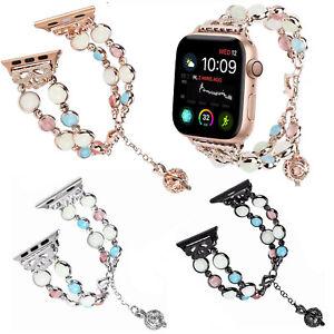 40mm 44mm Luminous Bracelet Strap for Apple Watch Series 6 5 4 3 Band w Pendants